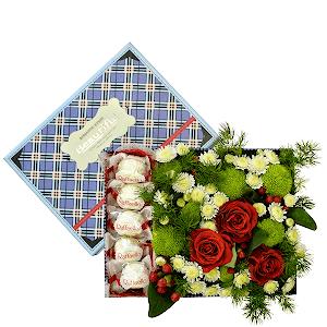 Сладкая жизнь +30% цветов с доставкой в Волжском