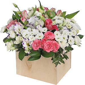 Цветник +30% цветов с доставкой в Волжском