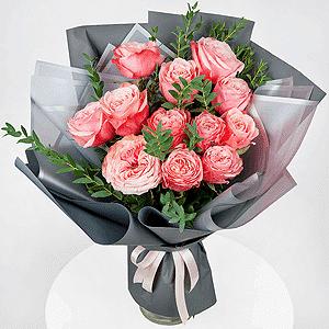 Бизнес-букет +30% цветов с доставкой в Волжском